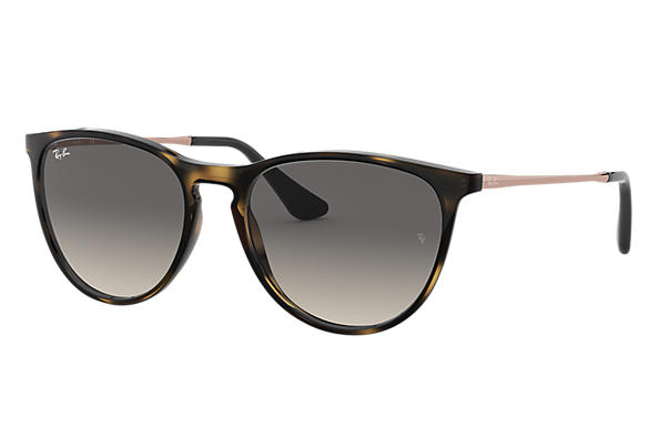 c9a9d70d12061 Ray-Ban Izzy RB9060S Tortoise - Injected - Grey Lenses ...