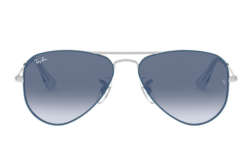 Ray-Ban  sunglasses RJ9506S CHILD 008 aviator junior light blue 8053672978100