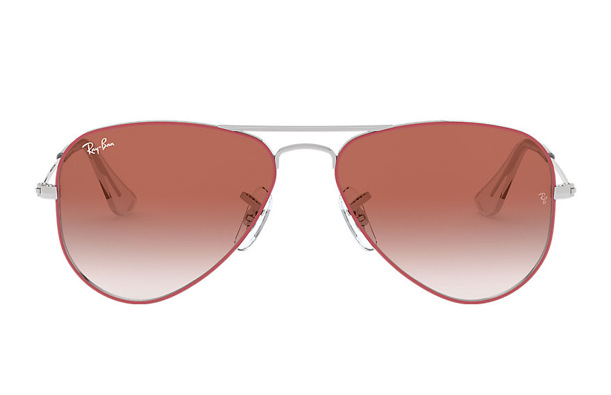 Ray-Ban  sunglasses RJ9506S CHILD 007 aviator junior red 8053672978124