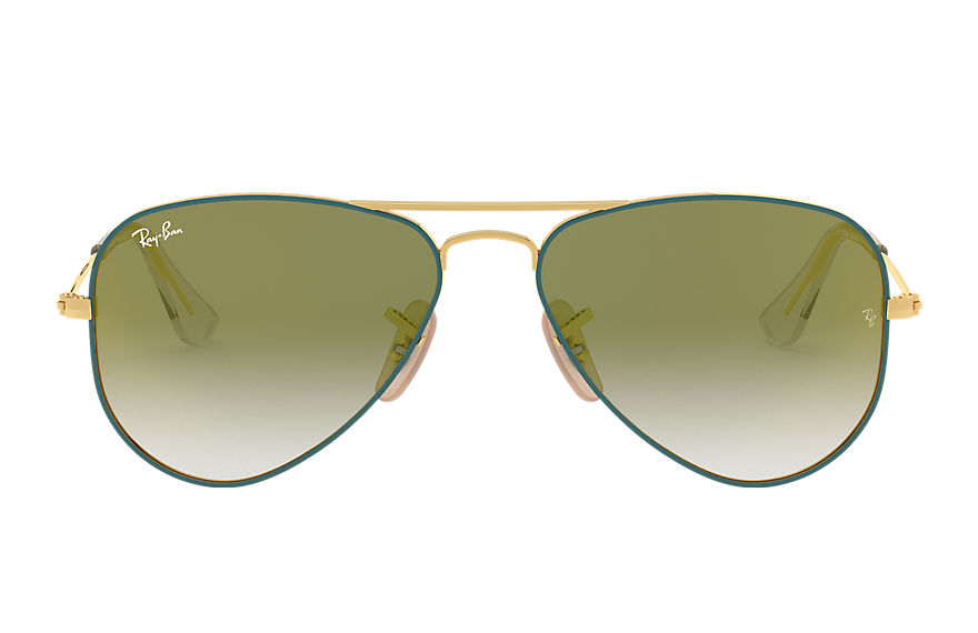 Ray-Ban  sunglasses RJ9506S CHILD 009 aviator junior tortoise 8053672978148