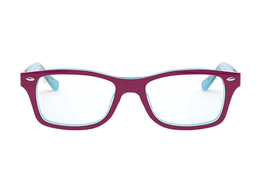 Ray-Ban  eyeglasses RY1531 CHILD 004 rb1531 burgundy on light blue 8053672978216