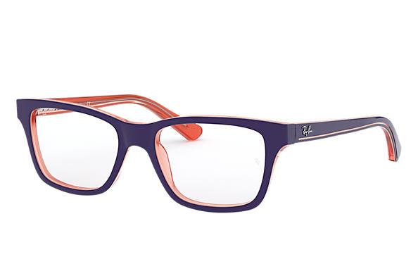 Ray-Ban Eyeglasses RB1536 Blue On Orange