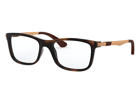 Ray-Ban		 0RY1549-RB1549 Tortoise; Bronze-Copper OPTICAL
