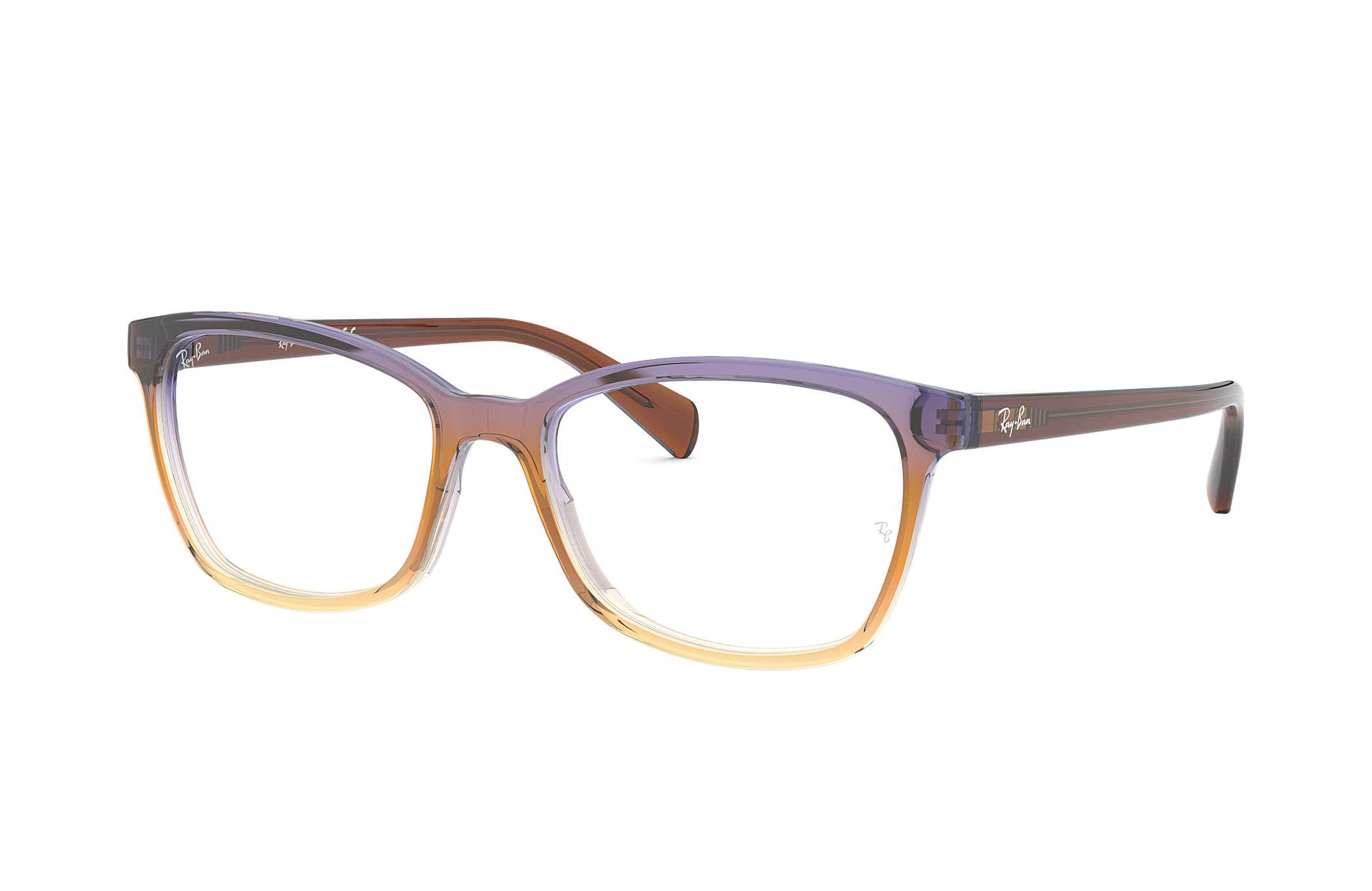 Glasögon Ray-Ban RB5362 Trigradient Brown Violet Yellow - Acetat ... 9b3ff447c68c9