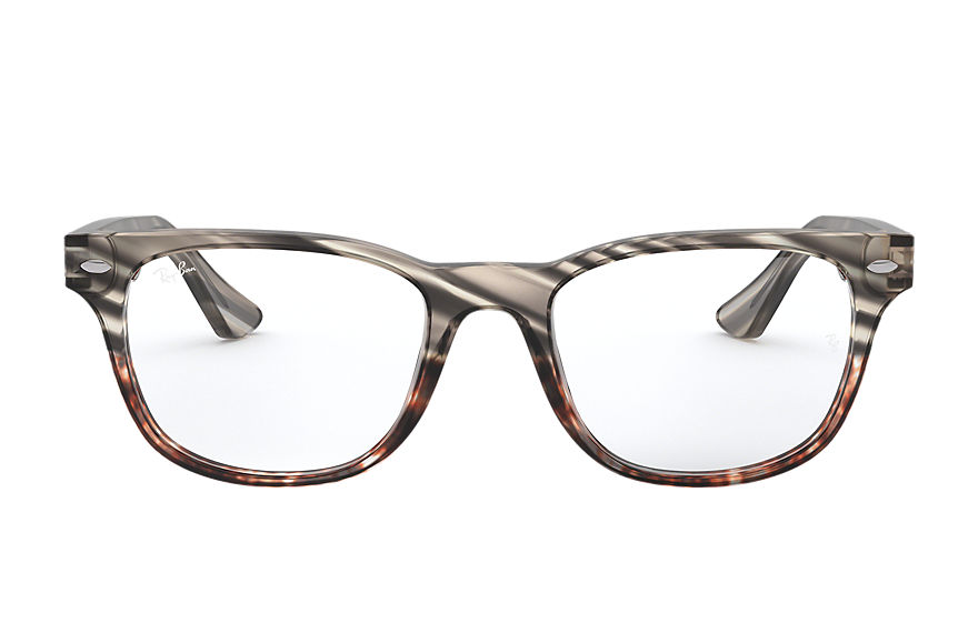 Ray-Ban  lunettes de vue RX5359 MALE 006 rb5359 striped grey gradient brown 8053672979732