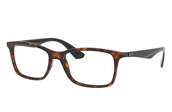 Ray-Ban 0RX7047-RB7047 Red Havana,Tortoise; Black OPTICAL