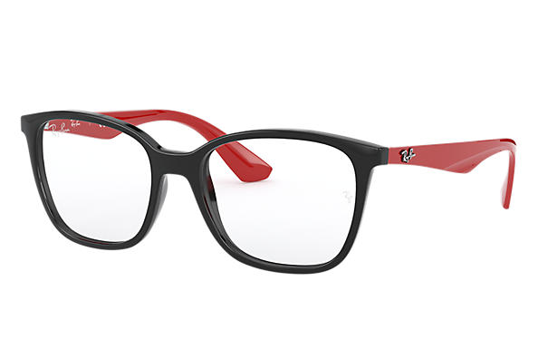 Ray-Ban 0RX7066-RB7066 Black; Red OPTICAL