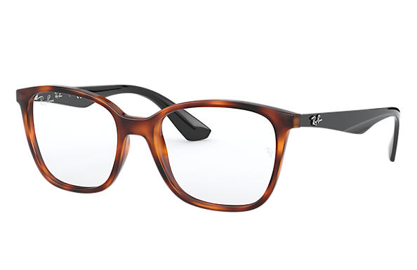 Ray-Ban 0RX7066-RB7066 Tartaruga; Nero OPTICAL