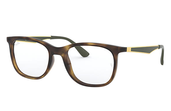 Ray-Ban 0RX7078-RB7078 Tortoise; Gold OPTICAL