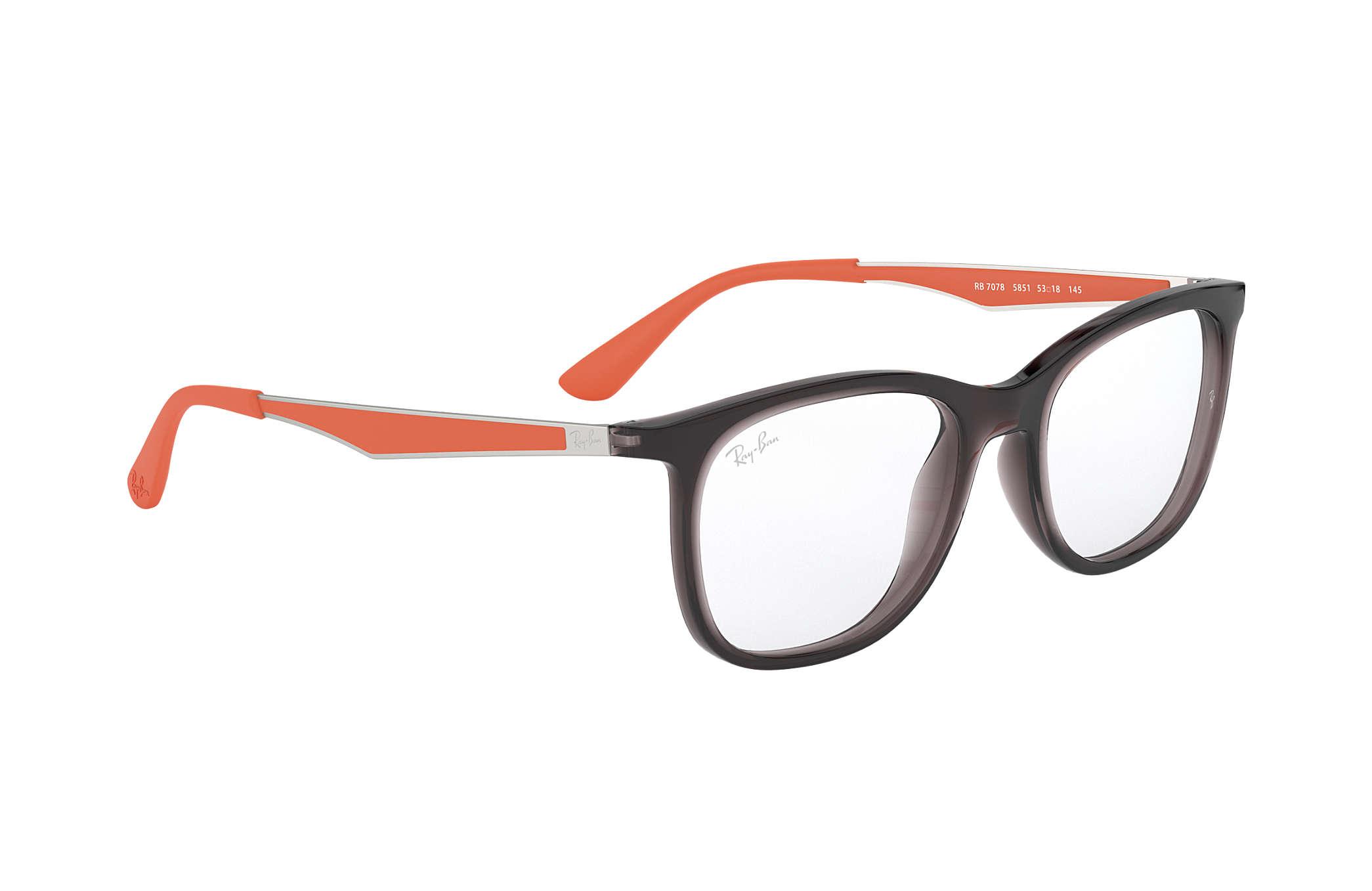 941a2c370b Ray-Ban prescription glasses RB7078 Grey - Injected - 0RX7078585153 ...
