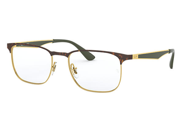 8165e43116 Ray-Ban prescription glasses RB6363 Black - Metal - 0RX6363289054 ...