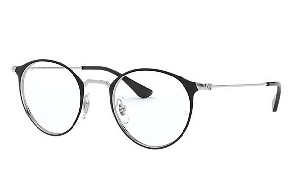 Ray-Ban		 0RX6378-RB6378 Black,Silver; Silver OPTICAL
