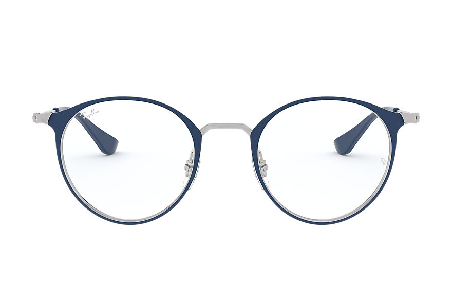 Ray-Ban  eyeglasses RX6378 UNISEX 003 rb6378 blue on silver 8053672980592