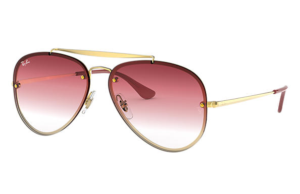 Ray-Ban 0RB3584N-BLAZE AVIATOR Gold SUN