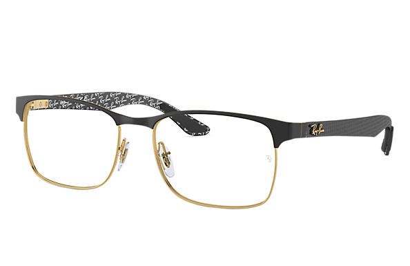 Ray-Ban 0RX8416-RB8416 Black,Gold; Black OPTICAL
