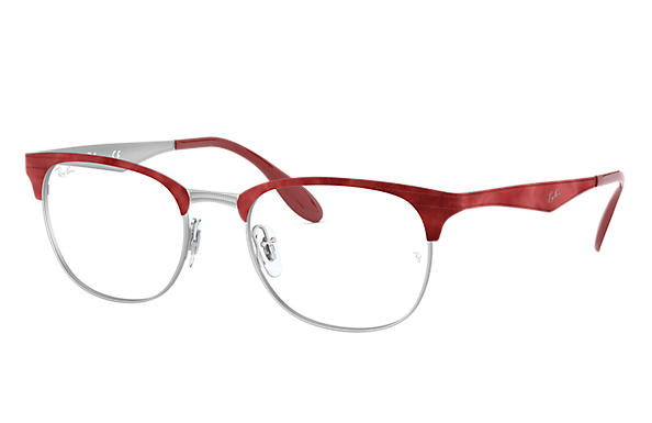 Ray-Ban 0RX6346-RB6346 Rouge,Argent OPTICAL