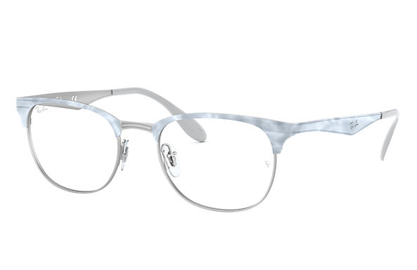 Ray-Ban 0RX6346-RB6346 White,Silver OPTICAL