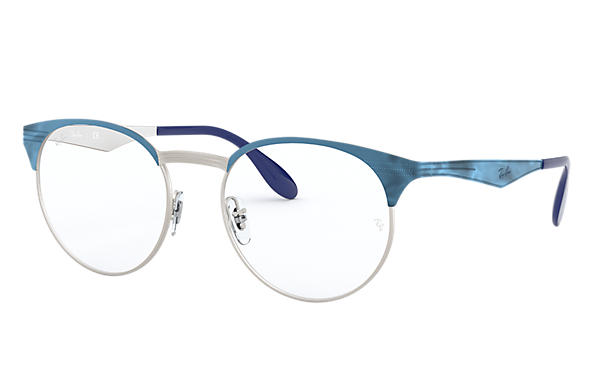 Ray-Ban 0RX6406-RB6406 Blue,Silver OPTICAL