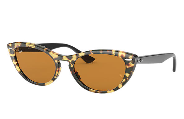 b5c6a48d3ceed Ray-Ban Nina RB4314N Yellow Havana - Propionate - Yellow Lenses ...