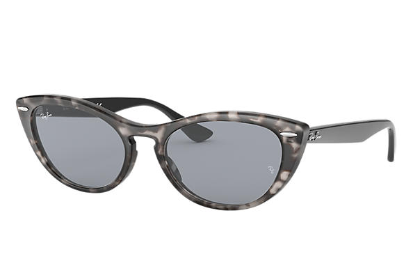 091edc7b31 Ray-Ban Nina RB4314N Grey Havana - Propionate - Blue Lenses ...