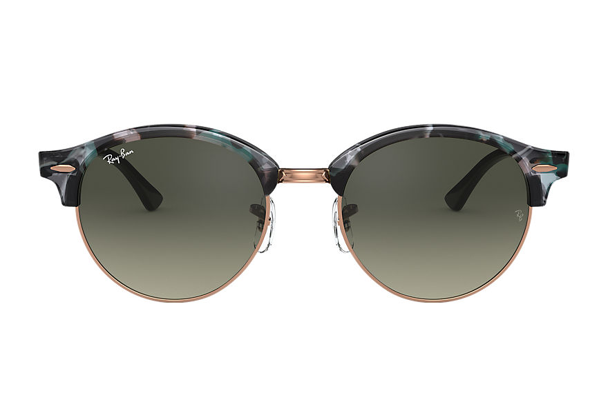 Ray-Ban  sunglasses RB4246F UNISEX 007 派对型人 小雀斑 spotted grey and green 8053672985207