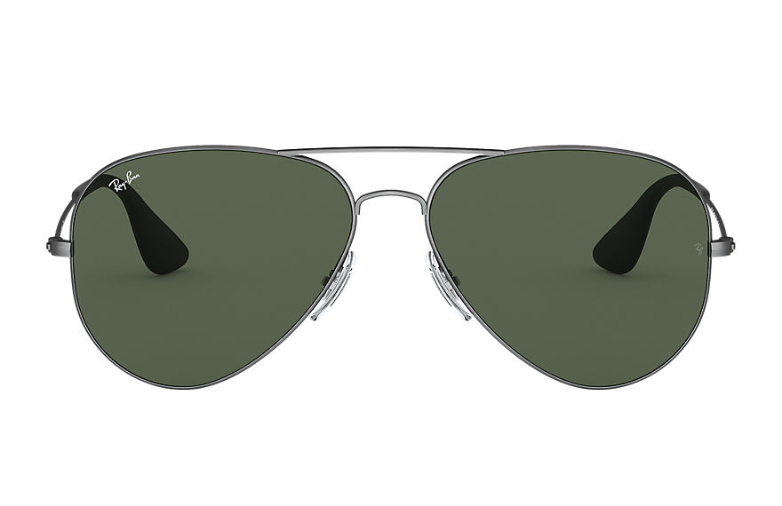 Ray-Ban  gafas de sol RB3558 UNISEX 004 rb3558 antique black 8053672985924