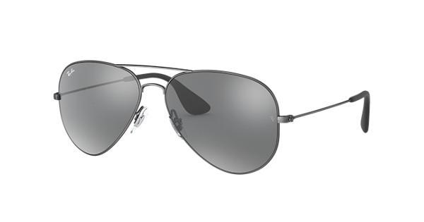 a4078c7c399 Ray-Ban RB3558 Antique Black - Metal - Grey Lenses - 0RB355891396G58 ...