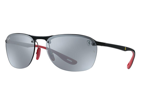 480ed407cc8b Ray-Ban 0RB4302M-SCUDERIA FERRARI GERMANY LIMITED EDITION Black  Gunmetal  SUN ...