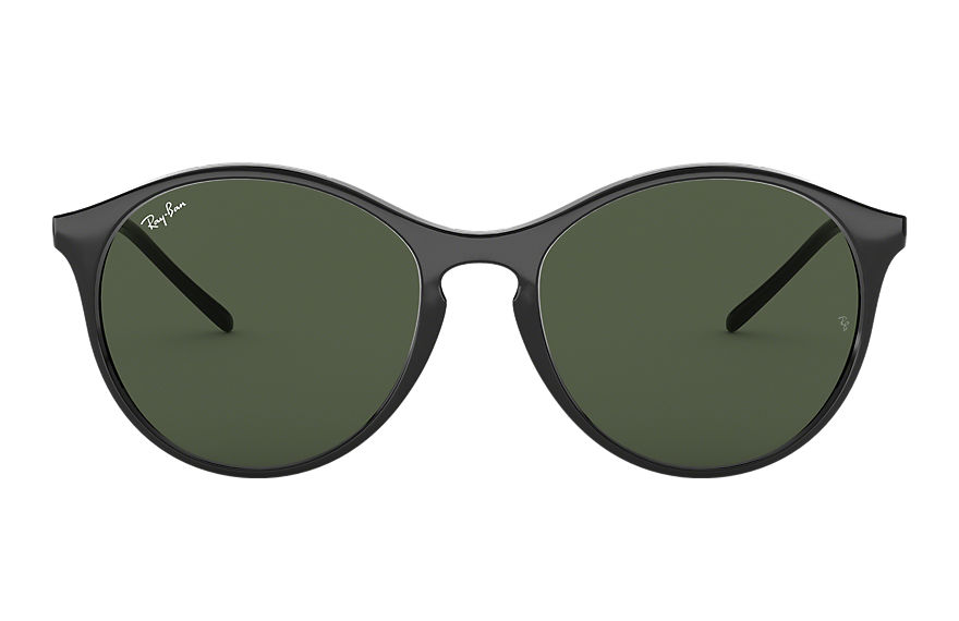 Ray-Ban Sunglasses RB4371 Black with Green Classic lens