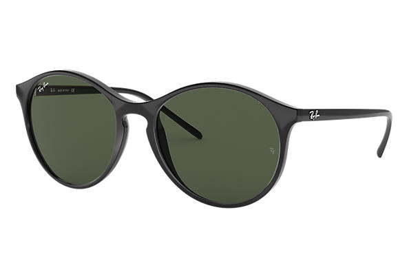 Ray-Ban RB4371 Black with Green Classic lens