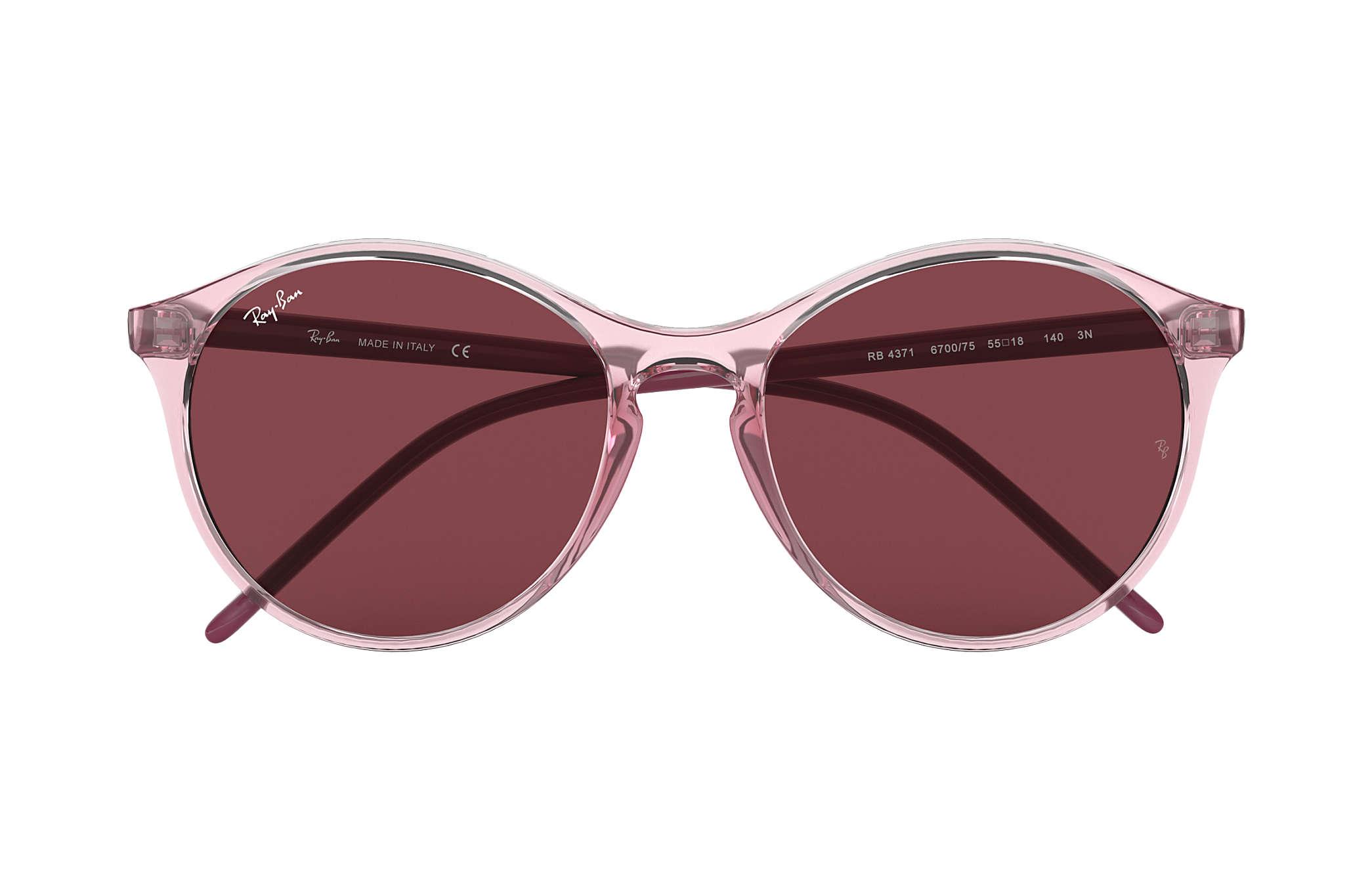 2231e2f616 Ray-Ban RB4371 Pink - Nylon - Dark Violet Lenses - 0RB437164007555 ...