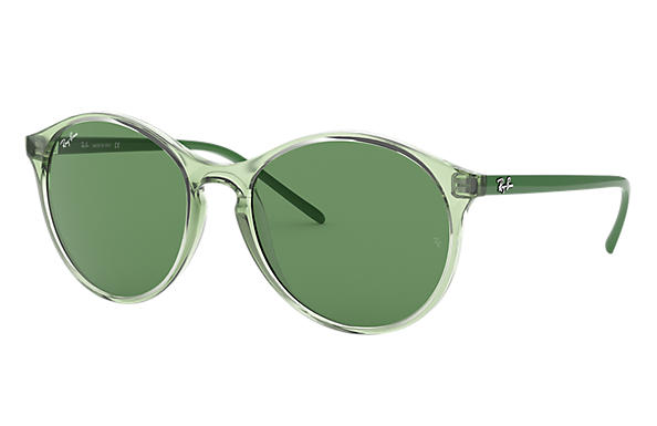 Ray-Ban RB4371 Green with Green Classic lens