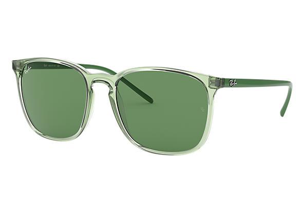 abdc4ba4b Ray-Ban Rb4387 RB4387 Verde - Nylon - Lentes Verde 0RB43876402/256 ...