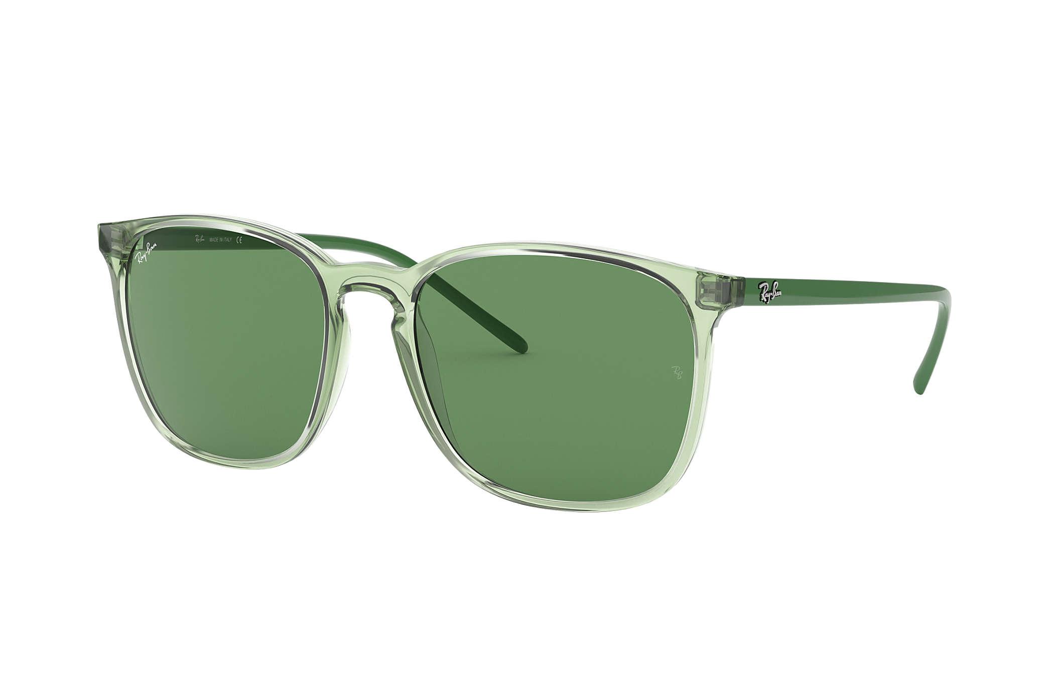 d0d19f545 Ray-Ban Rb4387 RB4387 Verde - Nylon - Lentes Verde 0RB43876402/256 ...