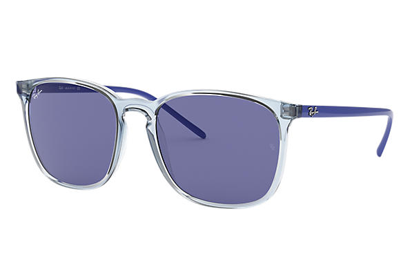 Ray-Ban 0RB4387-RB4387 Light Blue SUN