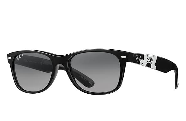Ray-Ban 0RB2132-RB2132 MICKEY MOUSE COLLECTION Black SUN