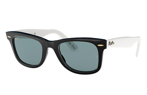 322555bc4dd Ray-Ban The Martinez Brothers Wayfarer RB2140 Black - Acetate - Grey ...