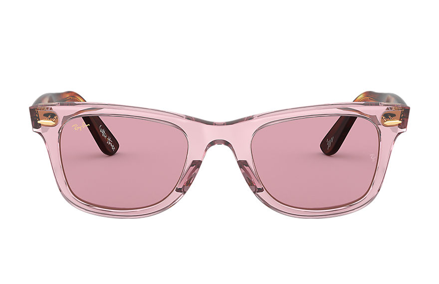 Ray-Ban THE MARTINEZ BROTHERS WAYFARER Rosa con lente Rosa Legend