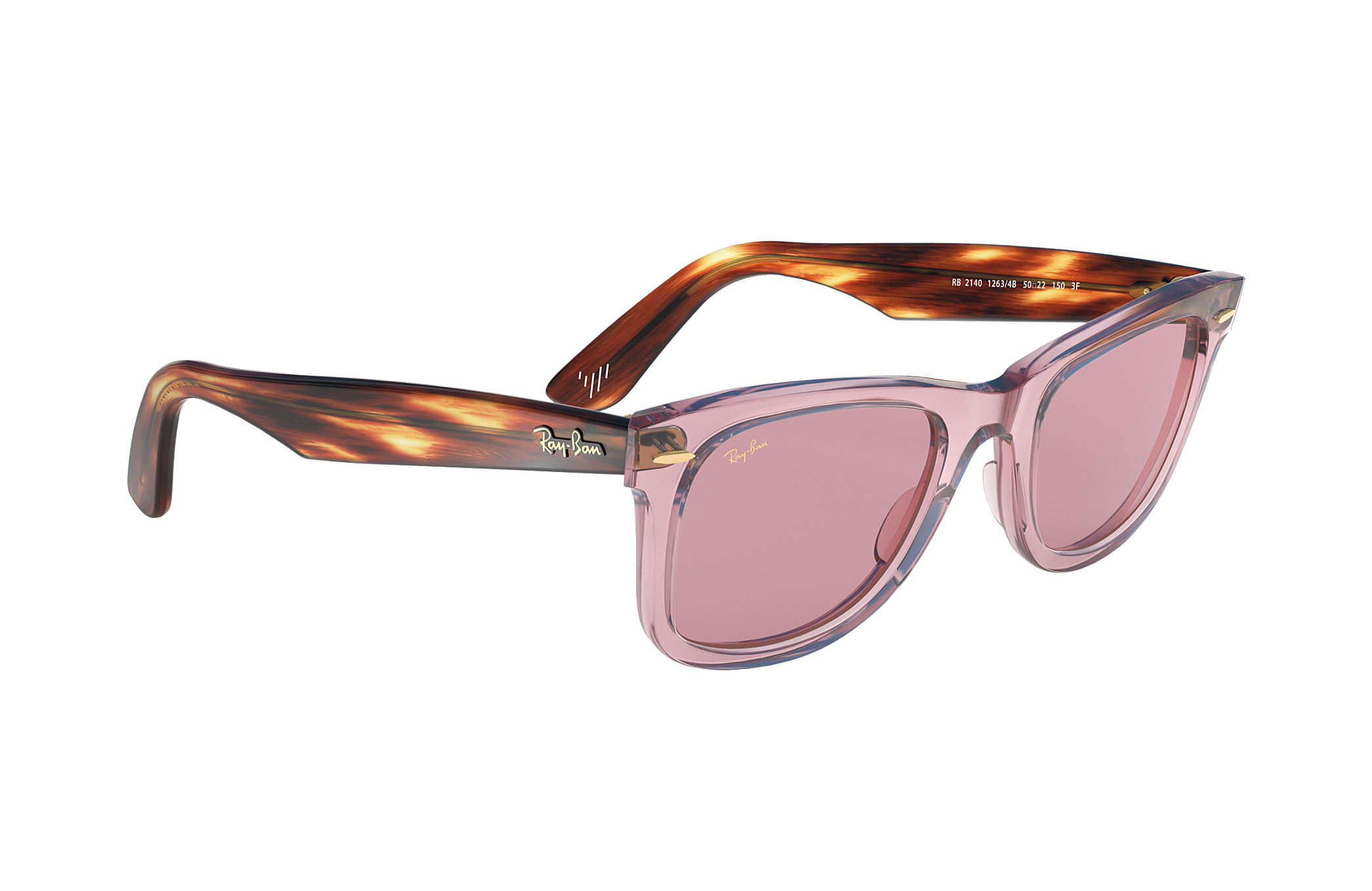 7a046f149e Ray-Ban The Martinez Brothers Wayfarer RB2140 Pink - Acetate - Pink ...