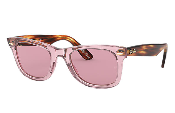 Ray-Ban 0RB2140-THE MARTINEZ BROTHERS WAYFARER Pink; Tortoise SUN