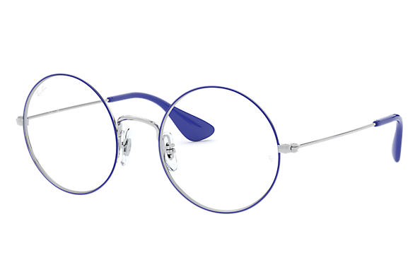 Ray-Ban Eyeglasses JA-JO OPTICS Blue on Silver