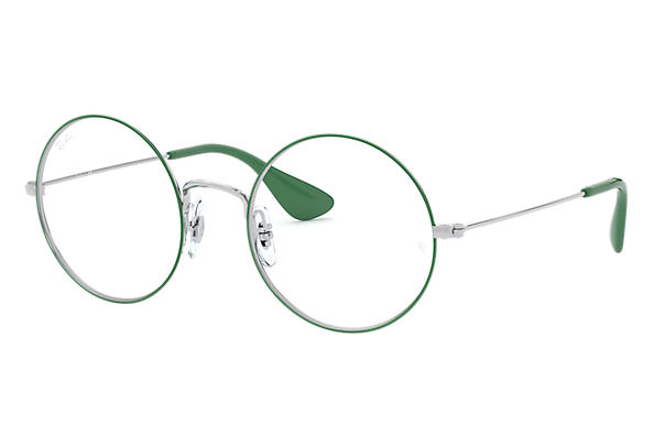 Ray-Ban Eyeglasses JA-JO OPTICS Green on Silver