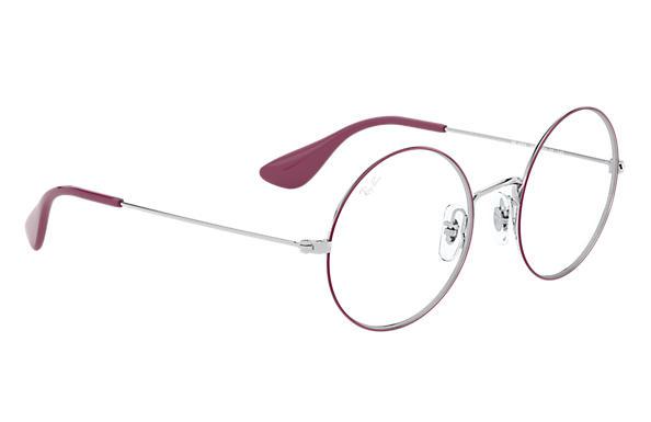 fb36f2807a170 Ray-Ban prescription glasses Ja-jo Optics RB6392 Pink on Silver ...