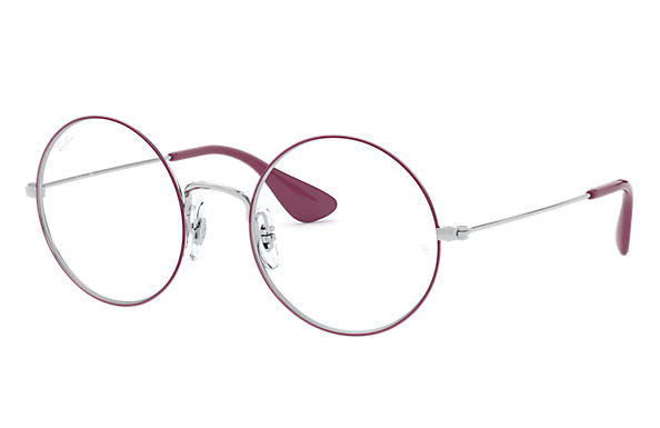Ray-Ban 0RX6392-JA-JO OPTICS Pink on Silver,Argento; Argento OPTICAL