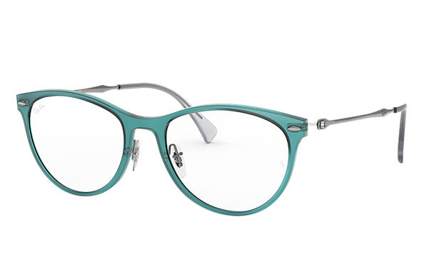 Ray-Ban 0RX7160-RB7160 Blue; Gunmetal OPTICAL