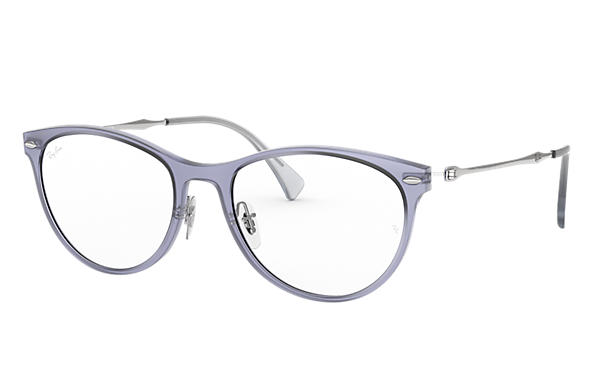 Ray-Ban 0RX7160-RB7160 Violet; Silver OPTICAL
