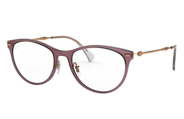 Ray-Ban 0RX7160-RB7160 Bordeaux; Bronze-Copper OPTICAL
