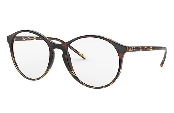 2638769b40 Ray-Ban prescription glasses RB5371 Burgundy Gradient Yellow Havana ...