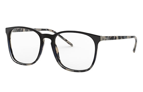 Ray-Ban Eyeglasses RB5387 Blue Gradient Red Havana