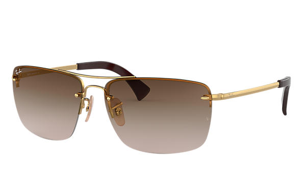 Ray-Ban 0RB3607-RB3607 Gold SUN